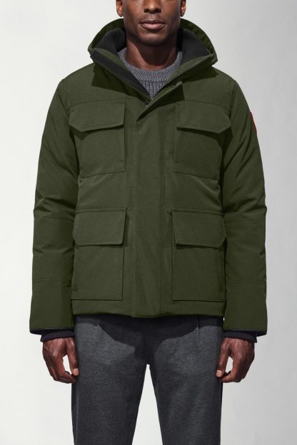 canada goose parka without fur