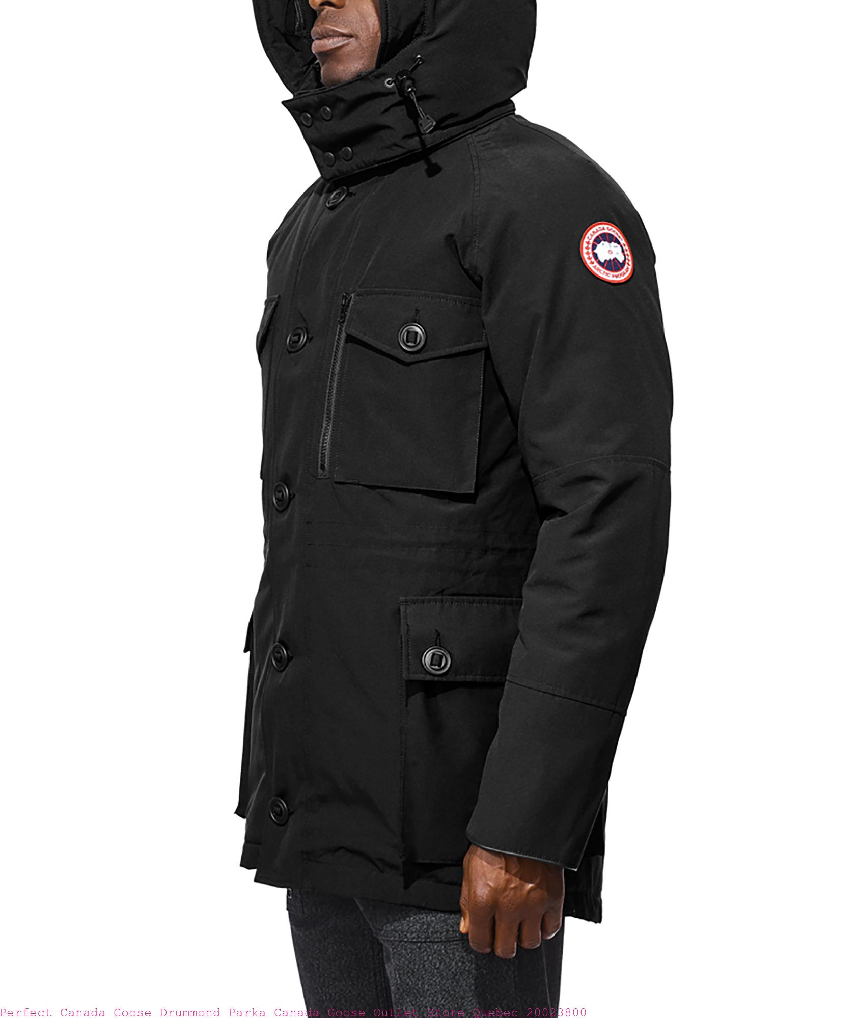finest selection 2152e ac5a5 Perfect Canada Goose Drummond Parka Canada Goose Outlet Store Quebec  20023800